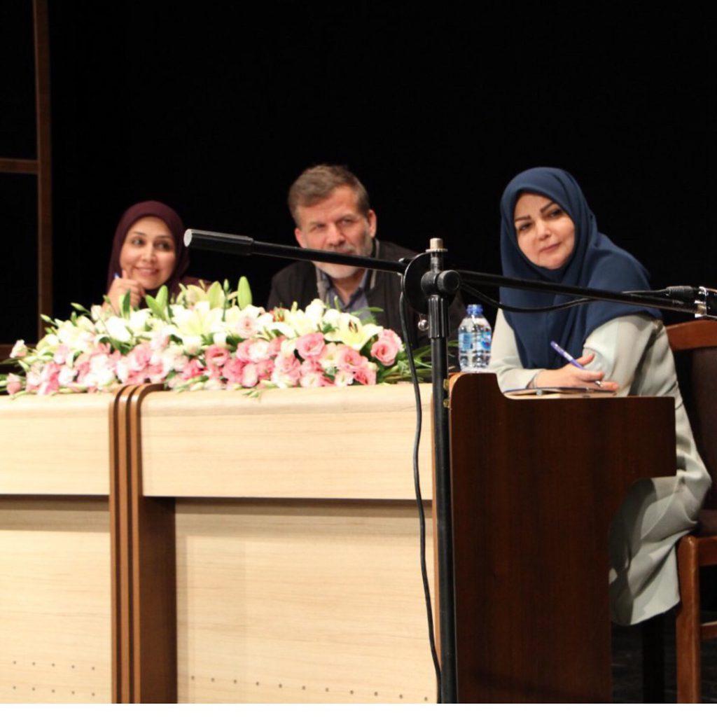 عکس تست اجرا مینا هاشمی